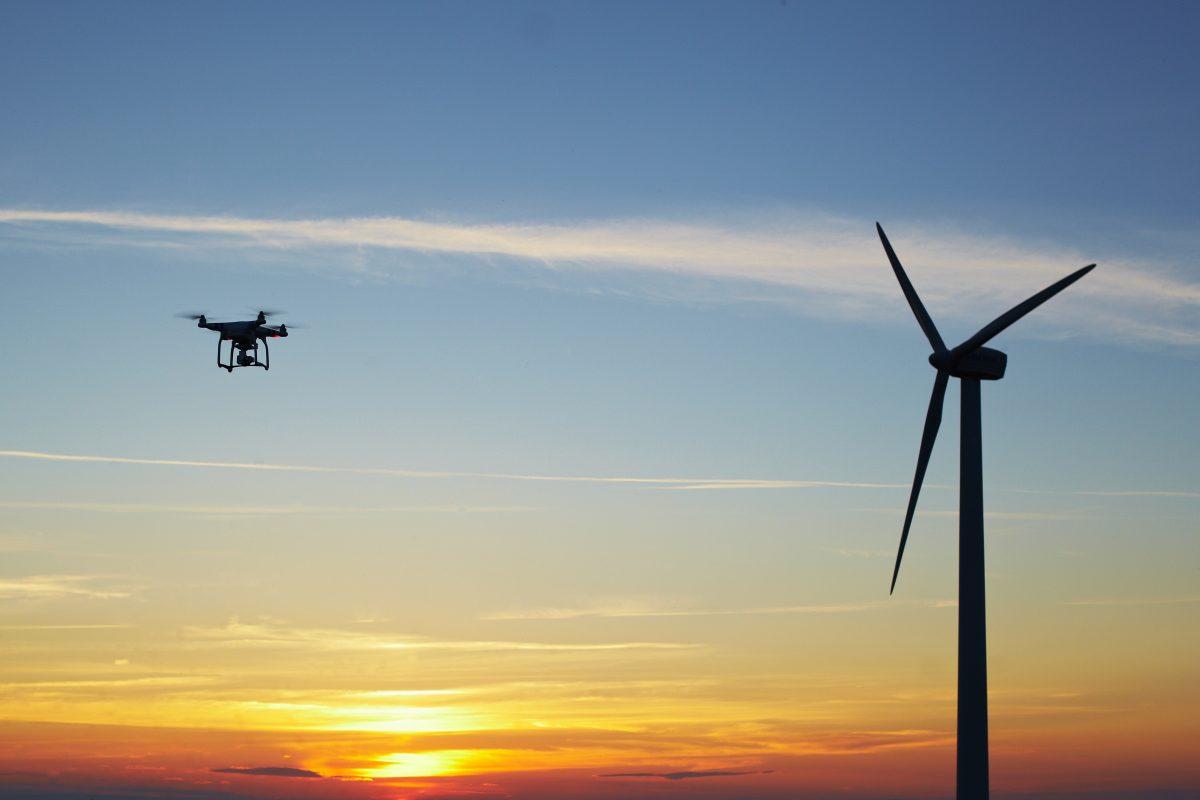 drone wind farms